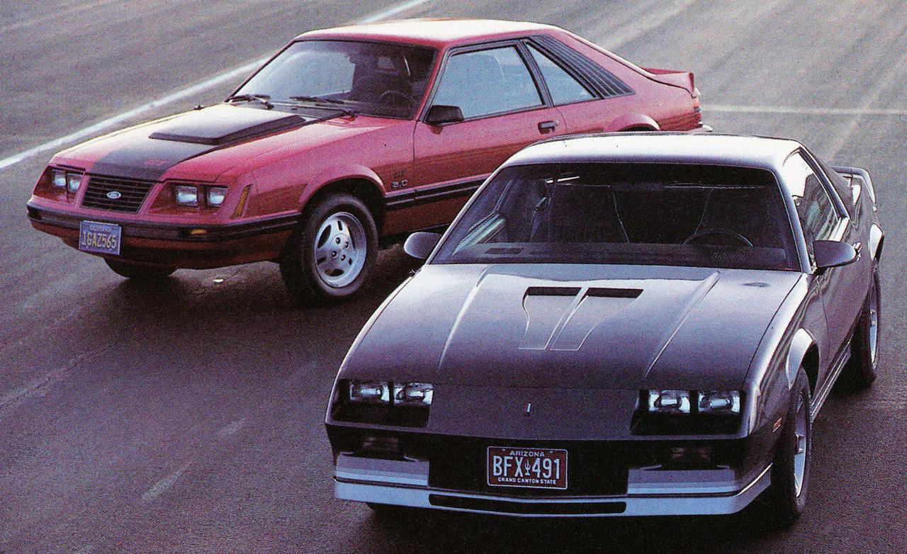 1983-ford-mustang-gt-and-chevrolet-camaro-z28-photo-344910 ...