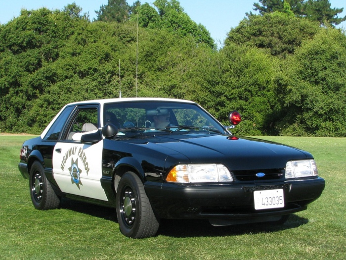 1988 Ford Mustang SSP (California Highway Patrol) foto Jack Snell en flickr