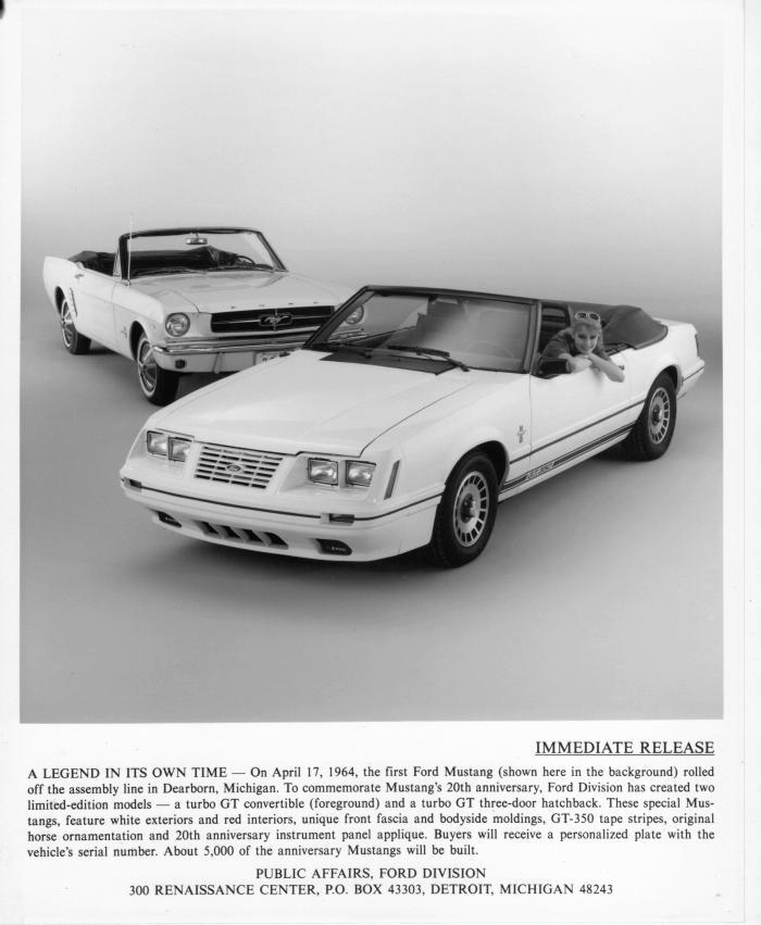 1984 Mustang GT 350
