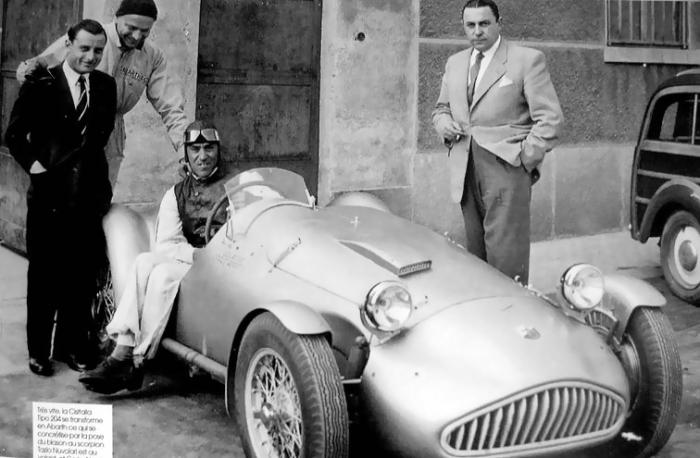 Cisitalia-Abarth 204A Spyder - Carlo Abarth - Tazio Nuvolari