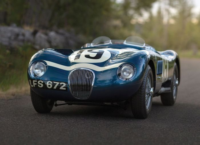 1953 Jaguar C-Type Works Lightweight Sells for $13.2 Million 2