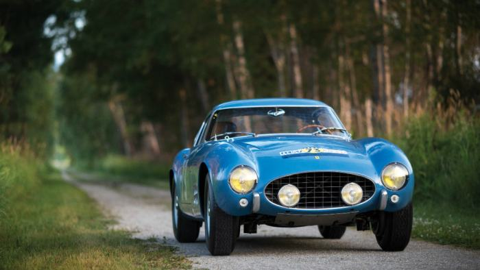 1956 Ferrari 250 GT Berlinetta Competizione 'Tour de France' by Scagliett 2015 Photo Patrick Ernzen ©2015 Courtesy of RM Sotheby's $13,2