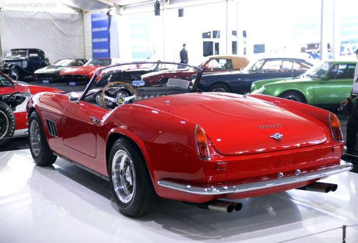 1961 Ferrari 250 GT SWB California Spider 3095 2015 $16,83