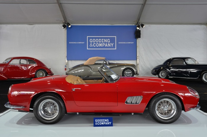2903GT 1961 Ferrari 250 GT SWB California Spider tops Gooding's Saturday auction at $15.18 million 2014