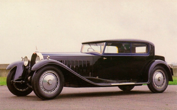 Bugatti Type 41 Royale 2-Door Saloon body by Kellner, 1932 - Chassis #41141
